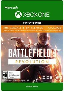 Details about EA DICE Battlefield 1 Revolution XBOX ONE GAME Digital  Download Code (no disc)