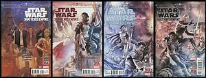 Journey-to-Star-Wars-The-Force-Awakens-Shattered-Empire-Comic-Set-1-2-3-4-Lot