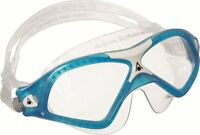 Aqua Sphere Seal XP2 Clear Lens Curved Adults Adjustable Swimming Goggles Mask