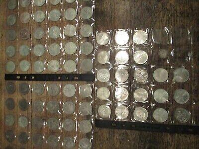 Münzen - Sammlung - XXL - 81 x 5 DM-Münzen ...