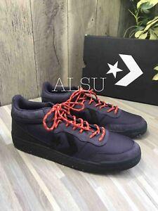 Details about Sneakers Men's Converse Fastbreak Mid Top Suede Canvas Cave Purple l