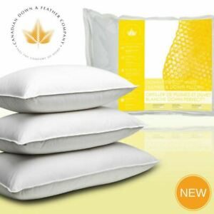 Canadian Down & Feather Co - Down Perfect White Feather & Down Pillow