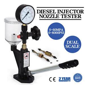 Details about Diesel Injector Nozzle Pop Pressure Tester, Genuine 'AG  Precision' - Economical
