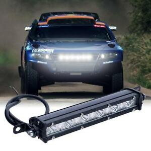 6-034-18W-6000K-LED-Work-Light-Bar-Driving-Lamp-Fog-Off-Road-SUV-4WD-Car-Boat-Truck