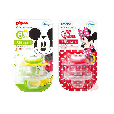 Japan Pigeon Disney Mickey Minnie Mouse Pacifier Soother Size L 6 Months R17