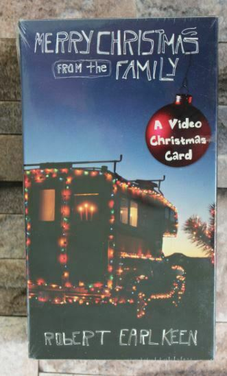 Robert Earl Keen Merry Christmas From The Family VHS Video Card NOS Alt-Country | eBay