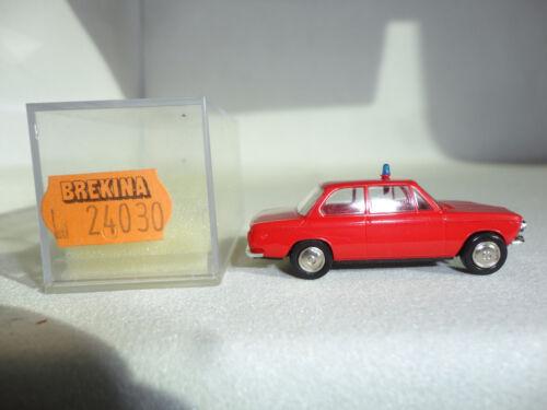 unbespielt neu Brekina 1:87 24030 BMW 1602 FW-ELW ROT Auslaufmodell originalv