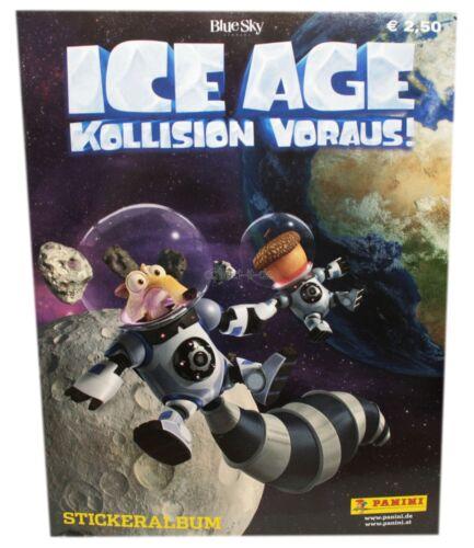PANINI-Ice Age 5-collisione anticipo-sammelsticker 1 album-tedesco