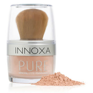 NEW Innoxa Mineral Powder Foundation Makeup Face Beauty Cosmetic