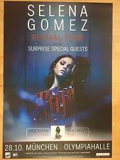SELENA GOMEZ 2016 MÜNCHEN   orig.Concert Poster - Konzert Plakat  118x84 cm