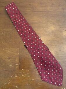 Vtg-1920s-30s-Reese-cravat-Printed-Geometric-Silk-Swing-Tie-Gatsby-47-3-5