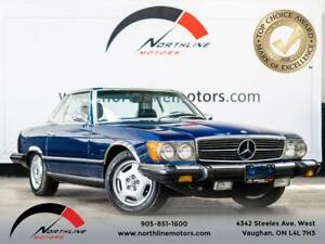 1975 Mercedes-Benz SL450 Roadster/Power Windows/Hardtop/3-Speed Automatic