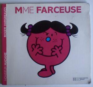 Details Sur Livre Enfant Mme Farceuse De R Hargreaves Collection Monsieur Madame N 38