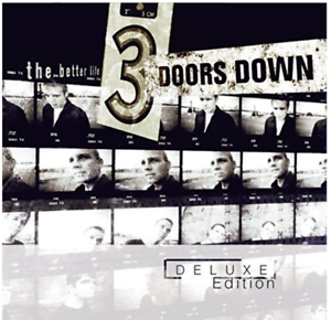 3 Doors Down - The Better Live / Live in Houston Deluxe Edition 2 CD Set NEU OVP