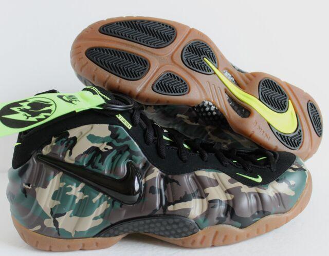 b61bba78ba Nike Air Foamposite Pro PRM Le Camo Forest-black Sz 11 587547-300 ...