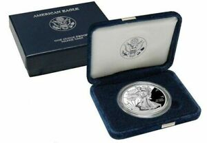 2002-W-Proof-American-Silver-Eagle-with-Box-and-COA-FREE-SHIPPING-USA