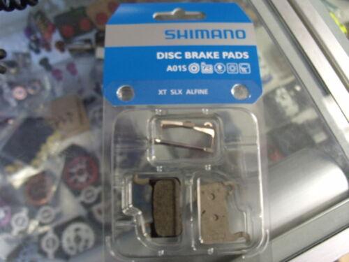 SHIMANO A01S XT-SLX-ALFINE BR-M775 RESIN COMPOUND DISC BICYCLE BRAKE PADS