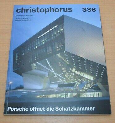 Gut Ausgebildete Porsche Christophorus Nr. 336 Magazin 02/09 Spezial Das Porsche Museum Eine GroßE Auswahl An Farben Und Designs