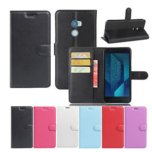 New-Wallet-Flip-Leather-Case-Cover-For-HTC-One-X10-Screen-Protector
