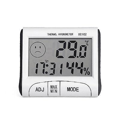 Mini Digital Thermometer Humidity Meter Room Temperature Indoor LCD