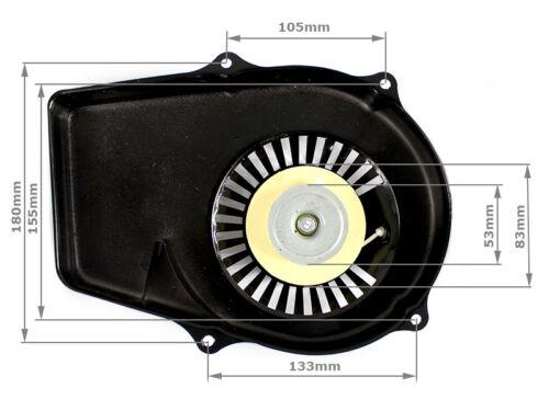 Güde GSE950 Stromerzeuger Stormaggregat Seilzugstarter für Matrix D-PG 1000