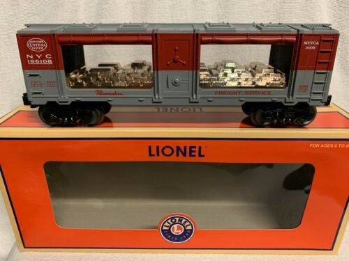 ✅LIONEL NEW YORK CENTRAL PACEMAKER METCA 2008 MINT CAR 6-52485