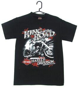 Harley Davidson Genuine Mens Black King Of The Road Short