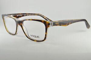 358207b03f Image is loading Vogue-Eyeglasses-VO-2787-1916-Havana-Transparent-Size-