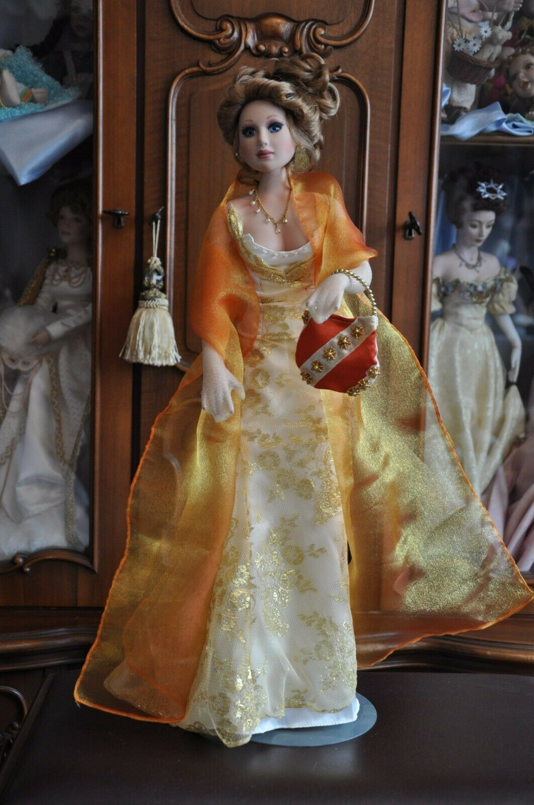 Porcelain doll Jessica by Donna Rubert