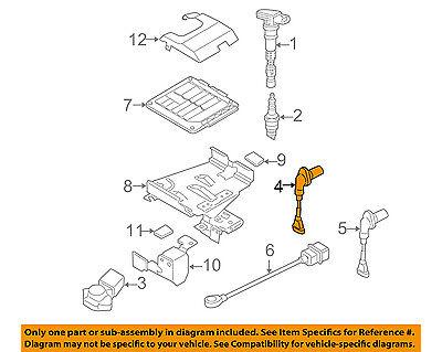 OEM Volkswagen Jetta camshaft sensor 07K-907-601-A