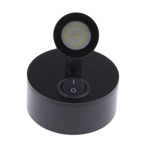 Wohnmobil Wohnwagen 12V LED Lesung Schwenkbar Spot Leuchte Lampe Wohnmobil Boot