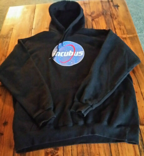 Vintage Incubus Hoodie 2XL Black Tour Rock Band Ho