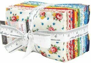 SWEET-HARMONY-Quilt-fabric-Moda-retro-Fat-Eighths-calico-American-Jane-21750F8