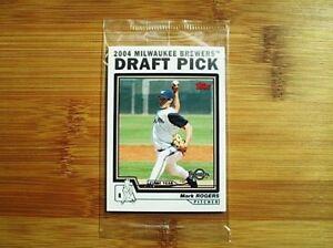 2004-Topps-Baseball-FACTORY-SEALED-Draft-Pick-Bonus-Card-Pack
