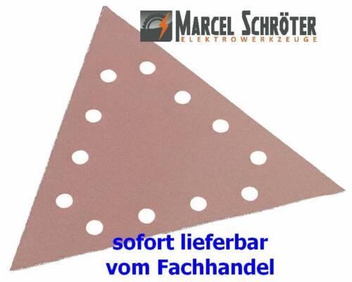 25 Dreieck-Schleifblätter K 100 Neu für Flex Giraffe WST 700 VV Vario Plus WSE 7