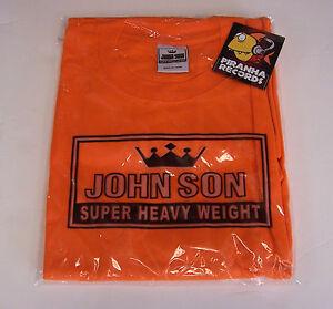 John-Son-Premium-Quality-Orange-T-Shirt-5XL-100-Cotton-Piranha-Records