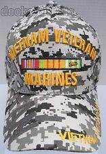 VIETNAM U.S.MARINES VETERAN Cap/Hat Camo,Military 100% Cotton*FreeShipping*