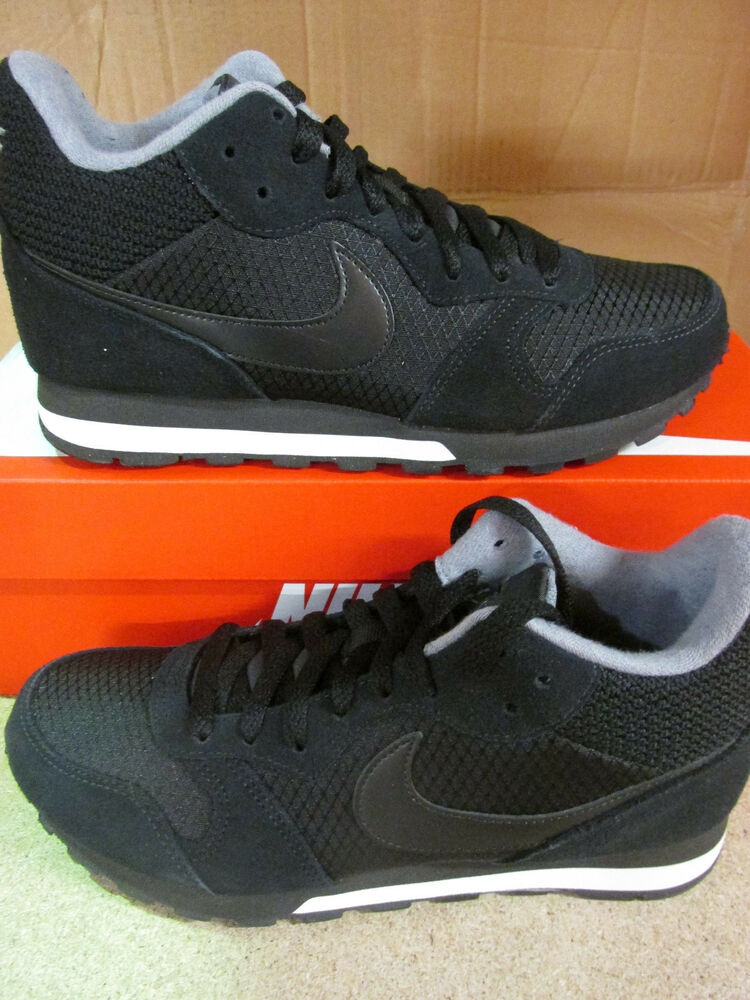 Discret Nike Femme Md Runner Mid Baskets Montantes 807172 001 Baskets Chaussures Adopter Une Technologie De Pointe