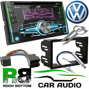 vw golf mk4 jvc kw r910bt bluetooth cd mp3 usb car stereo. Black Bedroom Furniture Sets. Home Design Ideas