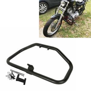 HK MOTO Black Highway Engine Guard Crash Bar For Harley Sportster XL XR 883 1200 1984-2003