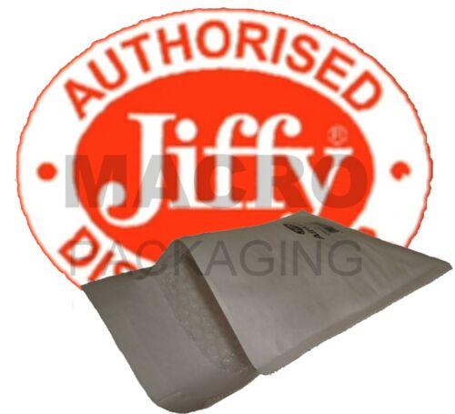 BIANCO totale £ 5.80 50 Sacchetti Originali Jiffy JL0