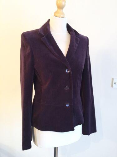 Veste Kaliko Smart Plum 10 Velvet Blazer Taille HHq7Ow1Px