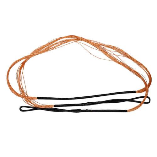 Nero Arancione Tiro Con L/'arco Corda Di Archi Corda Per Ricurvo Bow Lungo Arco