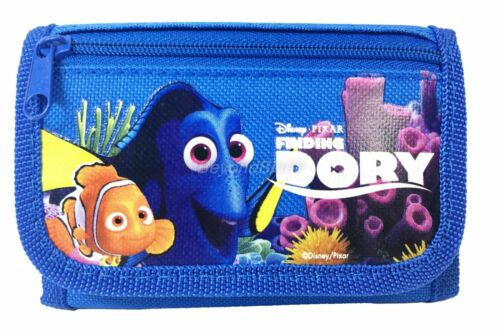 Disney Dory wallet Royal Blue Children Boys Girls Wallet Kids Cartoon Coin Purse