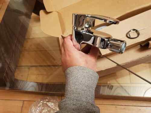 Solid Brass Designer LECICO AVENSIS MODERN CHROME BIDET MIXER /& Pop Up Waste