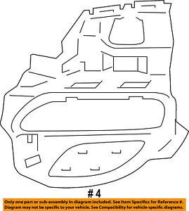 New Front Bumper-Side Bracket Left  fits Porsche Panamera 10-14 97050556301