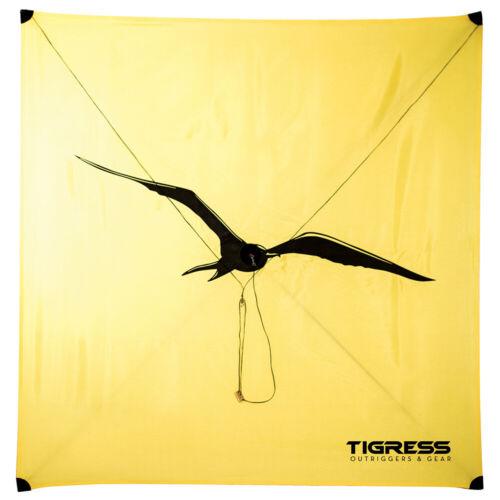 TIGRESS 88608-1 YELLOW ALL PURPOSE KITE