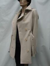 BURBERRY BRIT 80% Cashmere 20% Angora wool TRENCH COAT  size M