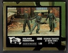 VERLINDEN 1090 - GERMAN TANKERS AT WORK WWII (3 Figures) - 1/35 RESIN KIT NUOVO