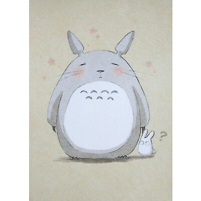 Totoro PVC Photo Paper Sticker Japanese Animation Studio Ghibli Cute